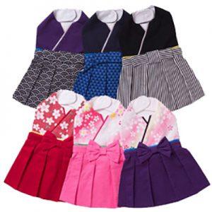 赤ちゃんたちの笑顔のために「かわいい袴風のスタイ」