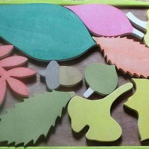 子どもと楽しむ「木育フレキシブルパズル」