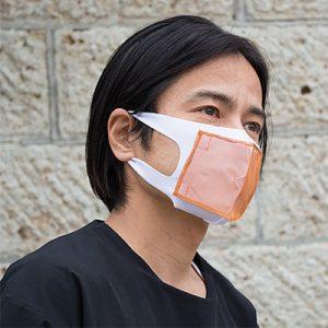 抗ウイルス光触媒銅繊維 マスク・チーフ