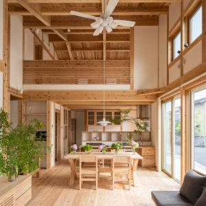 最高峰の健康住宅「空気がうまい家®」